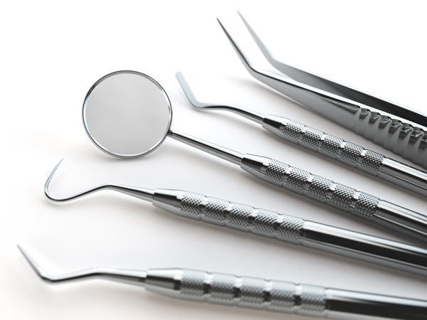 dental tools set for teeth dental care isolated PFDX2FE